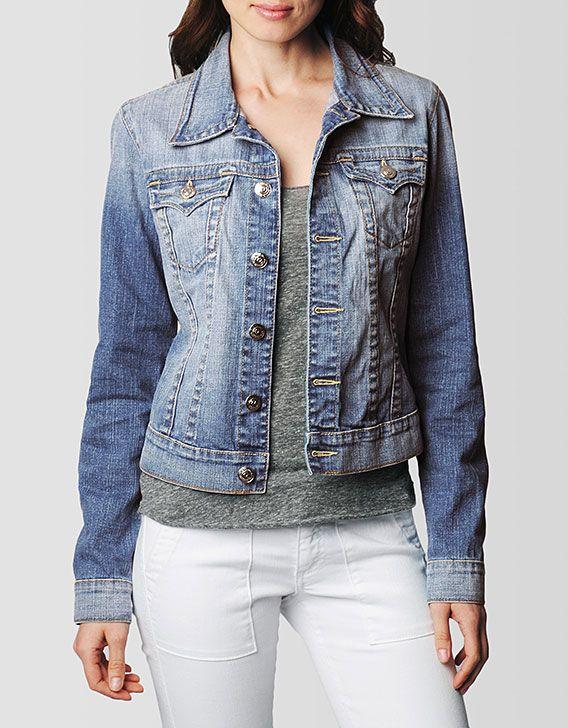 Womens true religion jean jacket