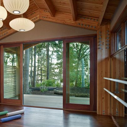 17 best images about dream yoga studio on pinterest walk for Garden yoga rooms