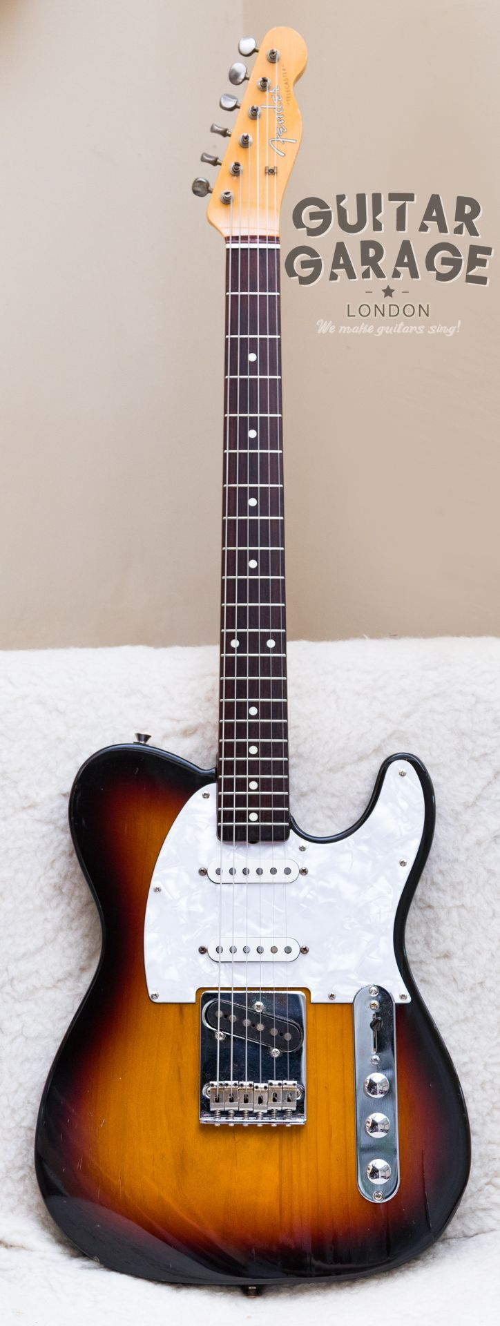 1996 Fender Japan Deluxe Telecaster 50th Anniversary Sunburst