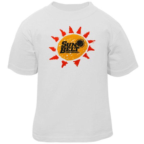 Sun Belt White Toddler Conference T-shirt - $3.99