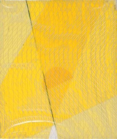 André VERDET (1913-2004) Géométrie lumineuse (lumière plastique), 1973 Huil