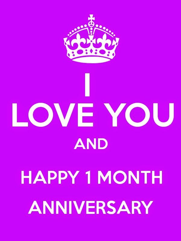 One Month Anniversary Quotes Happy Quotesgram One Month Anniversary Quotes Anniversary Quotes For Girlfriend Happy Quotes