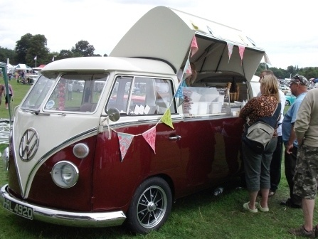 Captivating I Really Really Want A Campervan Ice Cream Truck At My Wedding!