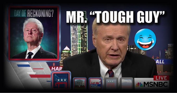 LOL: Chris Matthews Says He was 'TOO TOUGH' on Bill Clinton's Sex Scandals