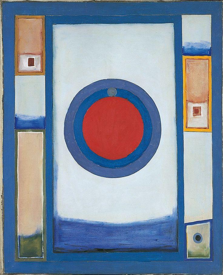 Jerzy Nowosielski, Wschód słońca | 1959, 72 × 59 cm, olej/płótno, Fundacja Nowosielskich