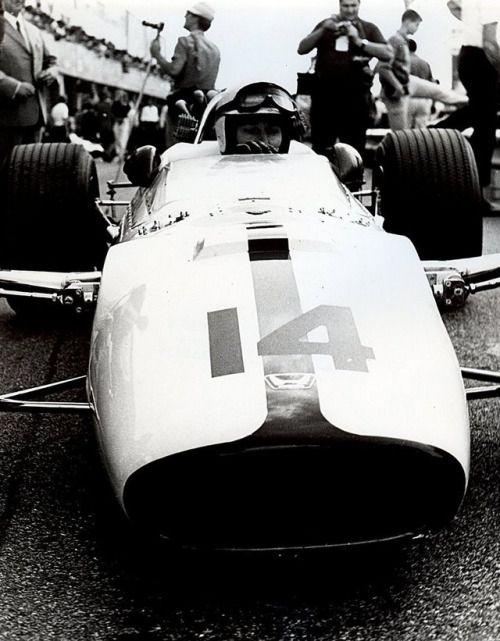 John Surtees (GBR) (Honda Racing), Honda RA300 - Honda V12 (finished 1st)  1967 Italian Grand Prix, Autodromo Nazionale Monza