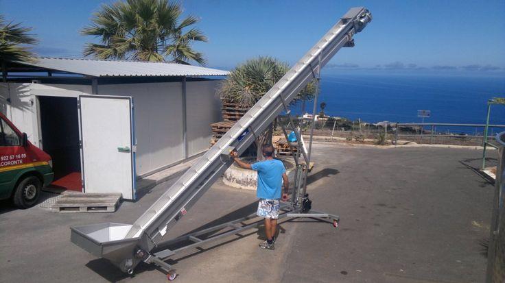 Elevador instalado en Bodega Presas Ocampo (Tacoronte - Tenerife)