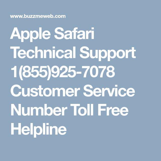 Apple Safari Technical Support 1(855)925-7078 Customer Service Number Toll Free Helpline