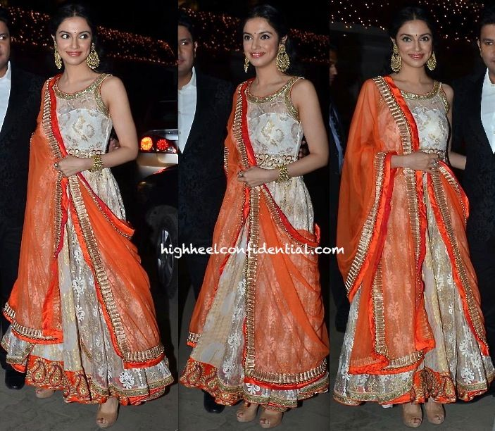 Divya Khosla Kumar At Raghav Sachar- Amita Pathak Wedding