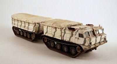 Gulumik katonai modellek: VITYAZ DT-10P 1/72 BALATON BM7251 - Galéria