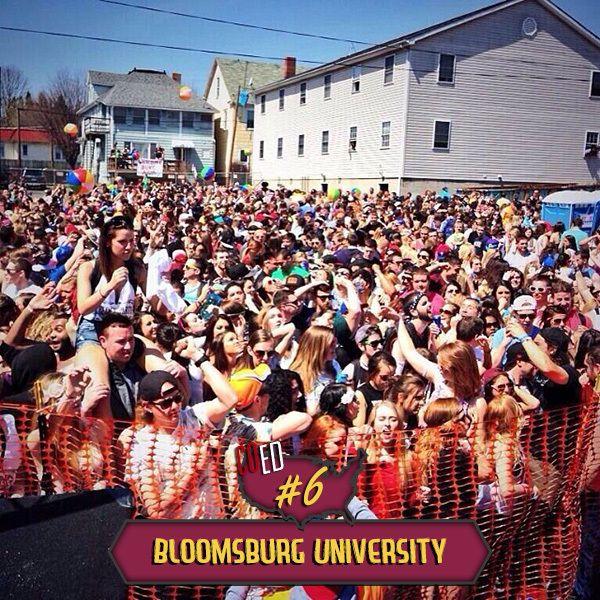 Bloomsburg University Block Party