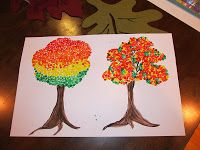 Wesselworld......Living, Loving and Laughing: Autumn Trees - 3rd & 4th Grade Projects
