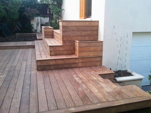 Mettre une jardinière dans ma terrasse bois