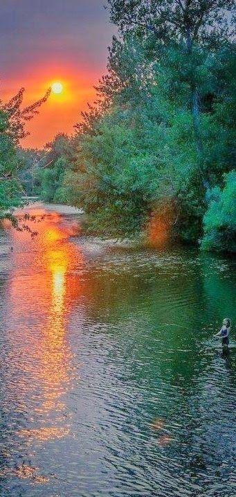 Sunset-River #river #sunset https://plus.google.com/+Ywikkiwy/posts