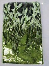 Freies verschiffen heißer verkauf indische stickerei schnürsenkel net afrikanische französisch spitze stoff mit pailletten für hochzeitskleid (A105(China (Mainland))