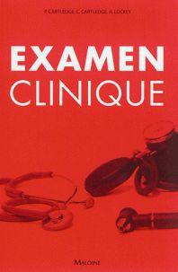 Catherine Cartledge et Peter Cartledge - Examen clinique. http://cataloguescd.univ-poitiers.fr/masc/Integration/EXPLOITATION/statique/cataTITN.asp?id=962898