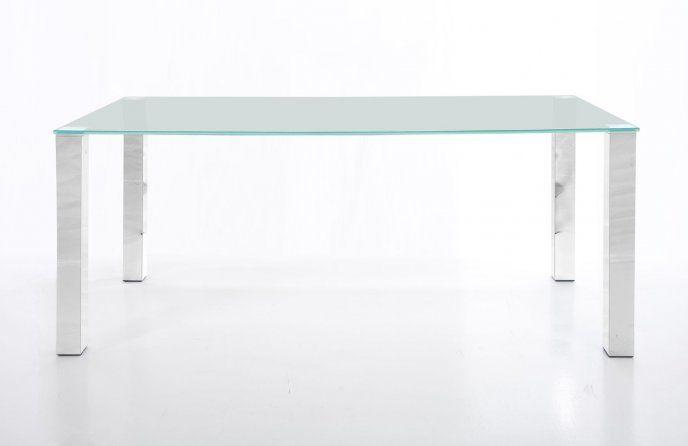 Szklany stół 160x100 cm H000009809 - Sanit-Express™