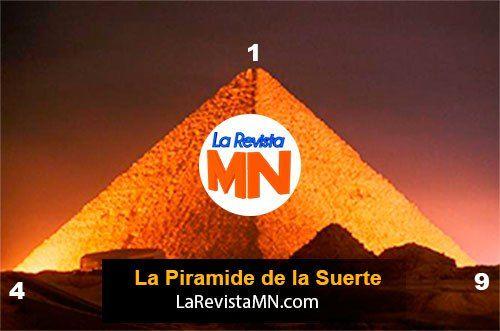 Pirámide De La Suerte Domingo 10 De Enero Del 2016