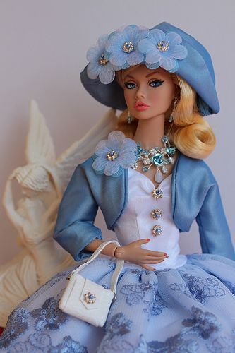 To the Fair Poppy Parker | Wearing Virginie's outfit, ooak j… | Flickr