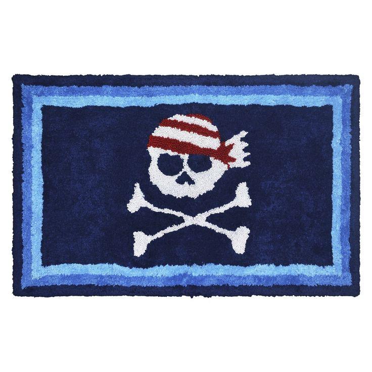 Circo Pirate Bath Rug -Blue