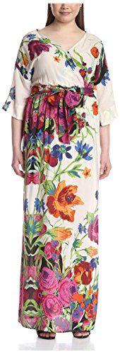 New Melissa Masse Women's Floral Print Maxi Dress online. Enjoy the absolute best in Calvin Klein Dresses from top store. Sku wvql68982nisb57252