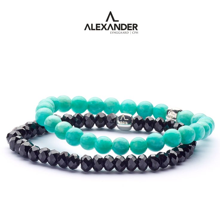 Black Spinel and Amazonite