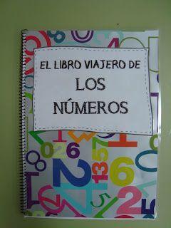 """Portada """"El libro viajero de los números""""    Mañana viajará nuestro libro viajero de los números. La idea la vi en el blog """"La clase de Mi..."""