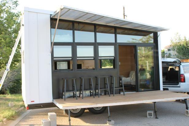 Contemporary Tiny Home Exterior