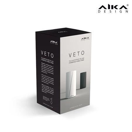 AIKA VETO -pakkaus #AIKAdesign #VETO #paperiteline #pakkaus