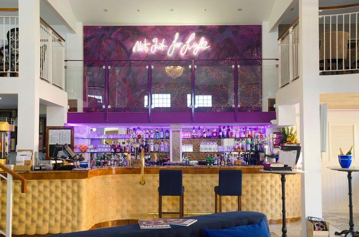 Food Worthing - Restaurant  #illuminated signage bringing the restaurants' strap-line to life