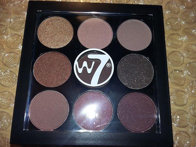 #w7 #eyeshadow #palette #mid #summer #nights #the #naughty #nine #mac #burgundy #x9 #dupe #drugstore #grunge #makeup #beauty #review