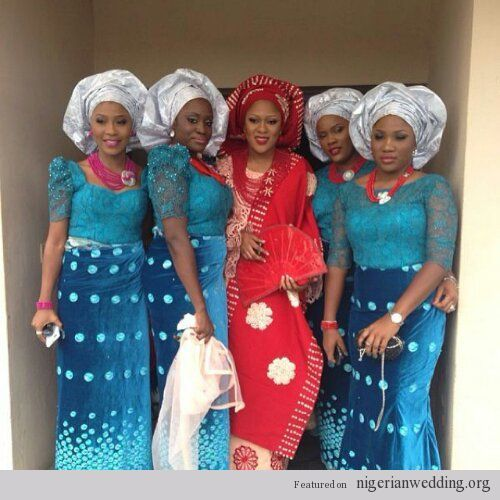 Nigerian Wedding Styles: 63 Best Images About Nigerian Women Fashion Group On