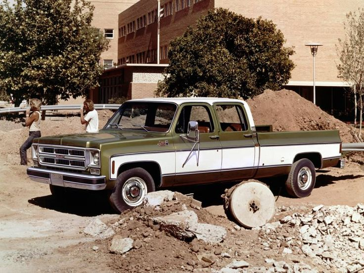 1976 GMC 2500 Sierra Classic 3+3 Crew Cab