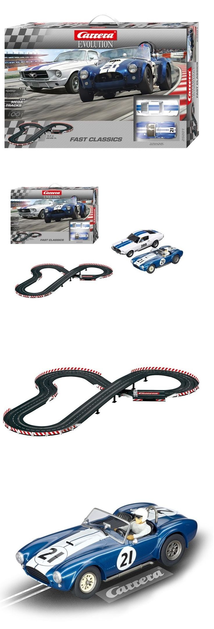 1970-Now 4781: Carrera 25201 Fast Classics Shelby Cobra Mustang Evolution 1 32 Slot Car Set -> BUY IT NOW ONLY: $152.49 on eBay!