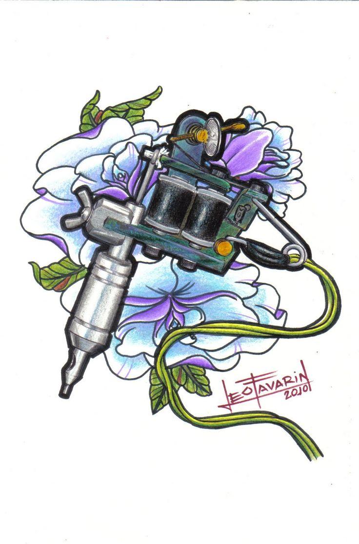 tattoo machine drawing - Google-søk