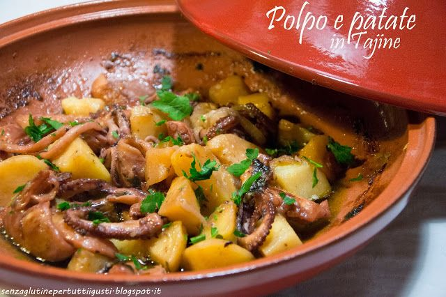 Polpo e Patate in Tajine - Senza Glutine... Per Tutti i Gusti
