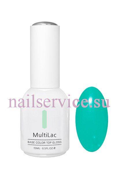 Гель-лаковое покрытие MultiLac (классический, Мятная прохлада, Cool Mint), 15 мл. RuNail. Цена 380 руб.