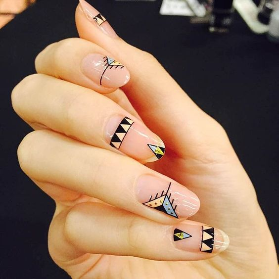 Tribal nails from nails unistella