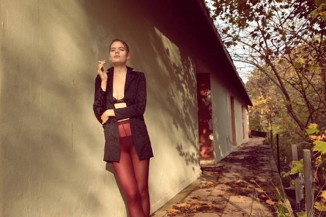 Spring Falls   Model : Tunde Kiss - Elite Models, London  Photographer : www.kemaluysal.com