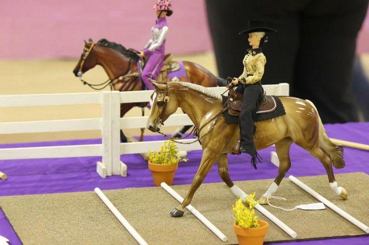 Trail Class - model horse