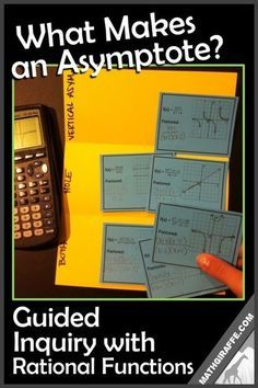 What Makes an Asymptote? Free Download - Guided Inquiry Lesson with Rational Functions (Discovery)