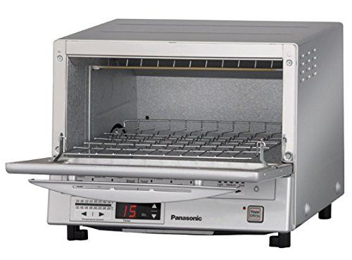 Best toaster ovens no.  4. Panasonic NB-G110P Flash Xpress Toaster Oven. Here's another more traditional toaster oven, but with an interesting twist.
