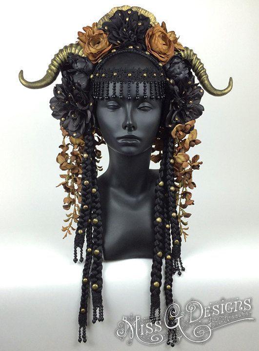 Resultado de imagem para adornment head tribal fusion horns