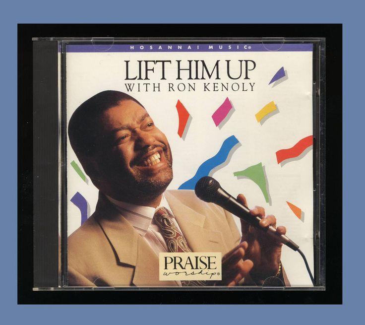 RON KENOLY -  LIFT HIM UP (1992 CD HOSANNA Music) VG OOP WORSHIP CCM #Christian