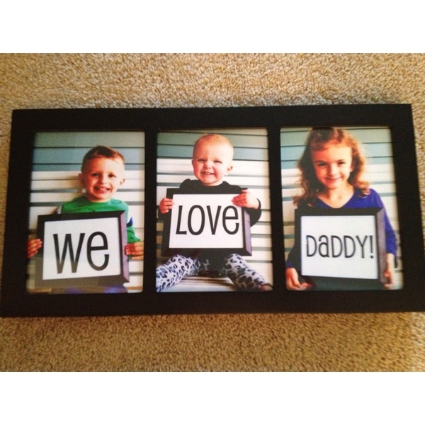 Fathers day gift or birthday - cute idea!!