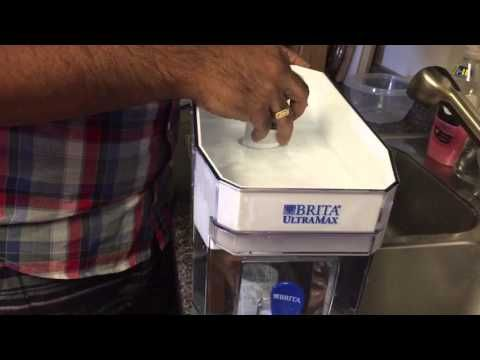 Brita UltraMax: how to separate for cleaning