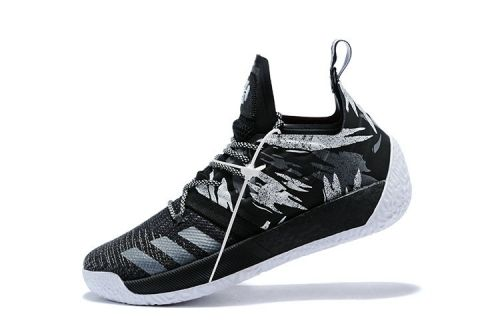 Spring Summer 2018 New Arrival Adidas Harden Vol. 2 Traffic Jam AH2217  Black Grey Iron 1b92c3c714