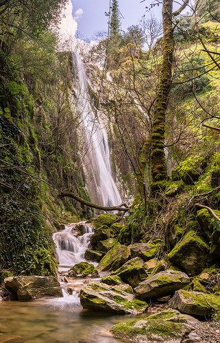 awesome Amazing Weather photos - Nymfes waterfall at Corfu Greece. #Weather #Images Check more at http://sherwoodparkweather.com/amazing-weather-photos-nymfes-waterfall-at-corfu-greece-weather-images/