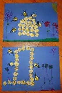 honey bees craft