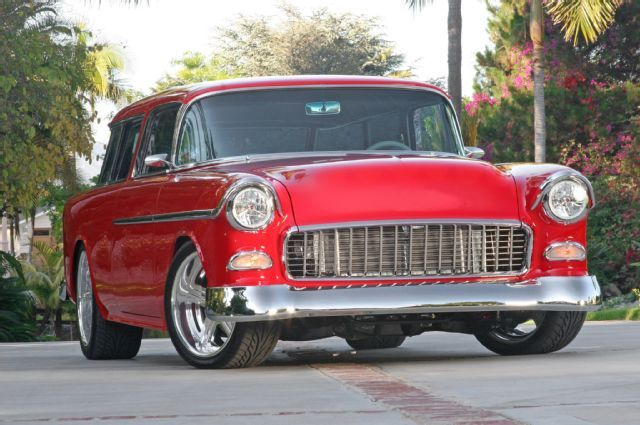1955 Chevy Nomad Front Grille